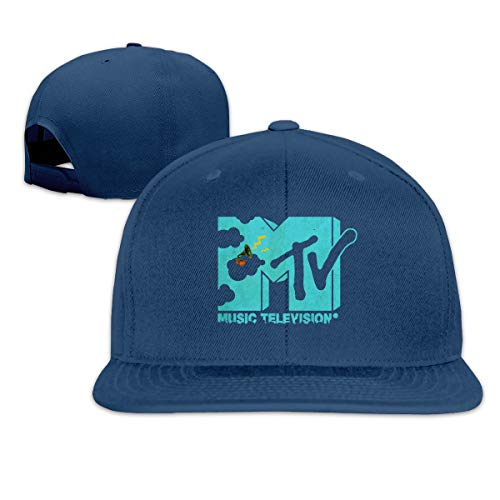 Zu Cu Cu Baseball Cap Adjustable Hip-hop MTV Baseball Hats for Men Boys Navy