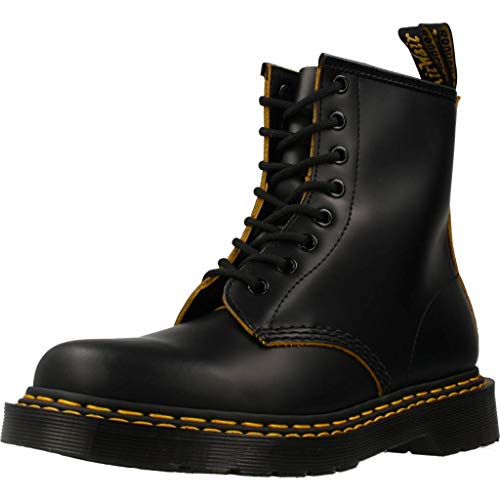 Dr. Martens Women Womens Boots 1460 8-Eye DS Smooth Black