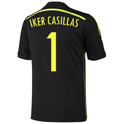 Adidas CASILLAS #1 Spain Away Jersey World Cup 2014 YOUTH. (YOUTH SMALL) ()