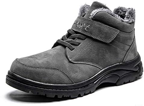 歩きやすい トレッキングシューズ 登山靴 ワークブーツメンズ 滑り止め ベルクロ 防水 裏起毛 お兄系 V系 安定感 プレゼント ハンサム ハイカット 紳士靴 おしゃれ 秋靴 冬靴 スノーブーツ ショートブーツ