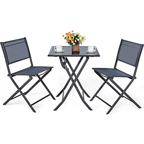 Giantex 3 Pcs Bistro