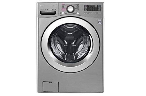 LG WDK2102TRHC Front Load 18KG Washer/10KG Dryer Combo 220V, Silver