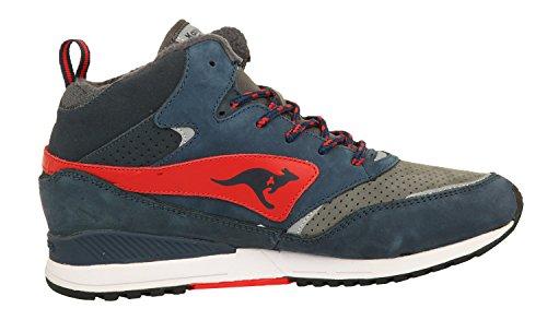 KangaROOS Herren Sneakers FRENZY ROOS 003 DK Navy/Frame Red 471560-461