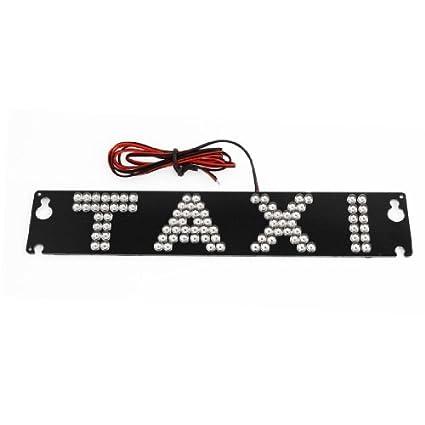 DealMux Auto parabrisas de la cabina cartel amarillo 90 LED ...