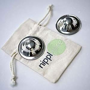 Nipplease - Gümüş Göğüs Ucu Kapağı (Mat Gümüş)