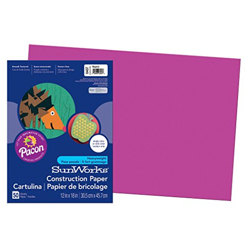 Pacon PAC6407 SunWorks Construction Paper, 12