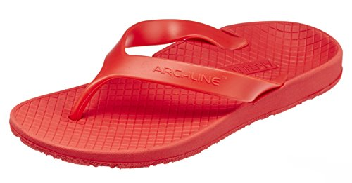 Price comparison product image ARCHLINE EVA Sole / PVC Upper Flip Flops 42 Red / Red