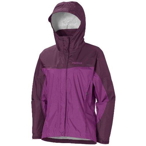Marmot Damen Regenjacke Wm's PreCip Jacket, Grape Berry / Dark Purple, XXL, R1027-6788-7