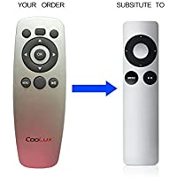 Coolux Brand Remote Control Replace for Apple TV 2 3 MC377LL/A Apple Remote