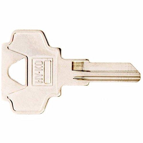 Hy-Ko Key Blank Cylinder Ez# In24 Single Sided 10 Pc/Bag Upc Coded