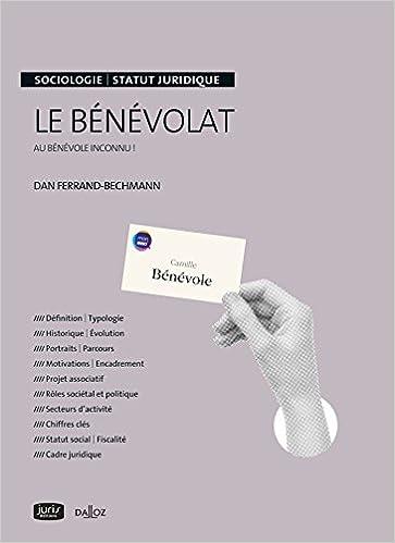 Livre gratuits Le bénévolat. Au bénévole inconnu ! pdf, epub ebook