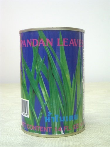 Pandan Leaves Extract - 4 x 14 fl. oz. (4 x 414 ml) - Product of Thailand