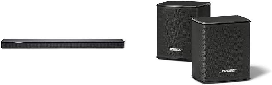 Bose - Barra de sonido 500, Bluetooth y Wifi, negro + Surround Speakers, negro