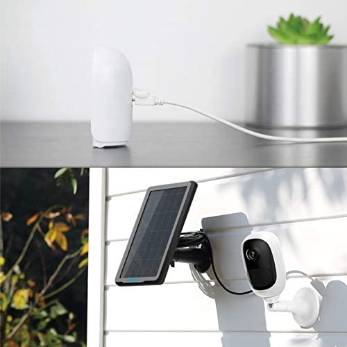 Reolink Wireless Outdoor Security Camera Rechargeable Battery-Powered, 1080P HD Night Vision, 2-Way Talk, PIR Motion Sensor, Siren Alert, Support Google Assistant/Cloud Storage/SD Socket, Argus Pro 41EZxOu43kL