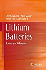 The book focuses on the solid-state physics, chemistry and electrochemistry that are needed to grasp the technology of and research on high-power Lithium batteries. After an exposition of fundamentals of lithium batteries, it includes ...