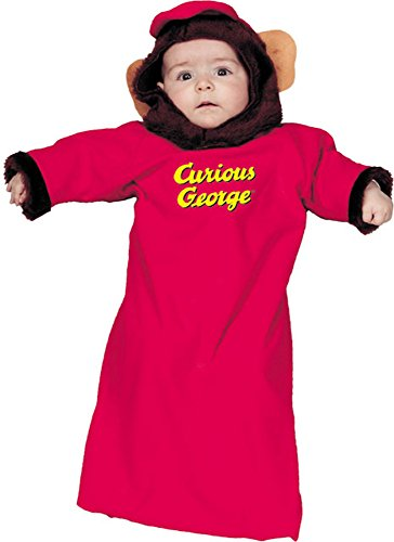 [Newborn Curious George Monkey Baby Costume (0-9 Months)] (Costumes Curious George)