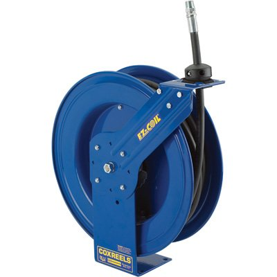 Coxreels Heavy-Duty Medium & High-Pressure Safety Hose Reel - 5000 PSI, 1/4in... by Coxreels