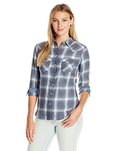 Levi's Women's Tailored Classic Western Shirt, Parsley Es...