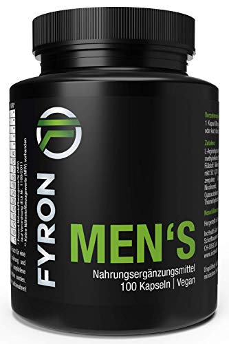 Fyron Mens + Sperm + Performance + testosterone - 100 vegan capsules
