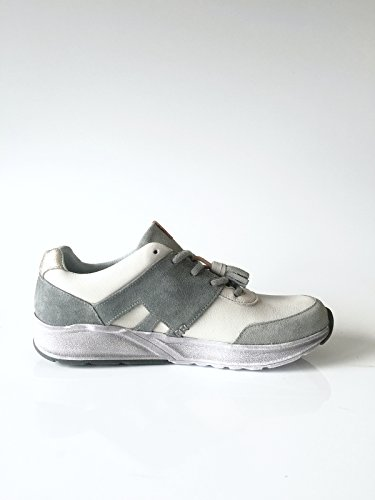 le coq sportif Damenschuh Sneaker Echtleder grau mint Größe 37