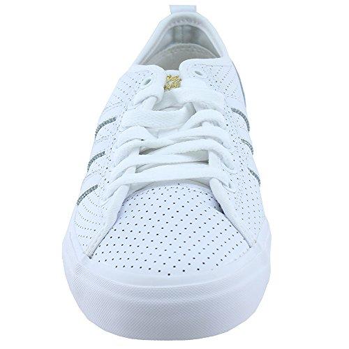 Adidas Uomo Originali Mens Matchcourt Rx X Magenta Scarpe Cg4871 Bianco
