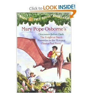 The Magic Tree House Collection #1: (Includes Dinosaurs Before Dark, Knight at Dawn, Mummies in the Morning, Pirates  Past Noon) (A Stepping Stone (Dark Knight Collection)