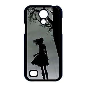 Alice Madness Returns Perdido En caso i9190 Sombras B1O96K3SD funda Samsung Galaxy S4 Mini funda 223GF5 negro