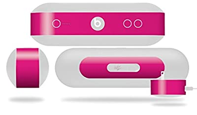 Solids Collection Fushia Decal Style Skin - fits Beats Pill Plus (BEATS PILL NOT INCLUDED) from Matrix Productions, Inc.