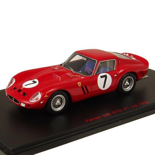 1/43 フェラーリ330GTO 1962年ル・マン24時間 ドライバー:L.Bandini/M.Parkes RL120