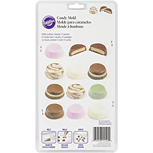 Wilton 2115-1522 Candy Mold, Peanut Butter Cups