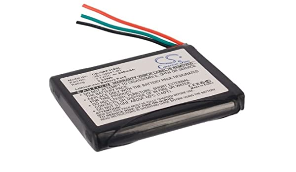 Battery Replacement for Garmin Forerunner 910XT Part NO 361-00057-00 361-00057-01