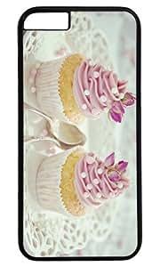 Yummy Cakes DIY Hard Shell Black Designed For iphone 6 Plus Case