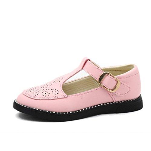O&N Children Kids Girls Ballet Flats Princess Bridesmaid Wedding Party School Shoes Mary Janes