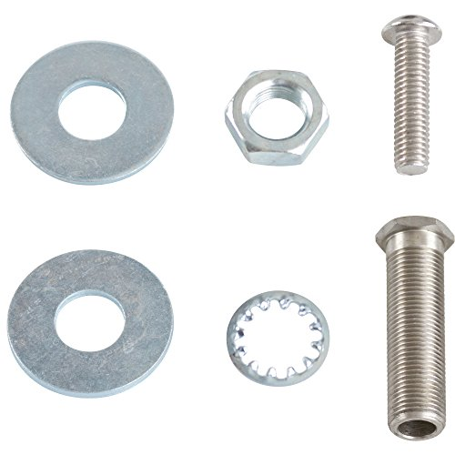 "Rage Powersports QUICK-NUTS-LONG Wheel Chock (Pair of Stainless Steel Motorcycle Mounting Nuts with 1.5"" long top mounting bolts)"