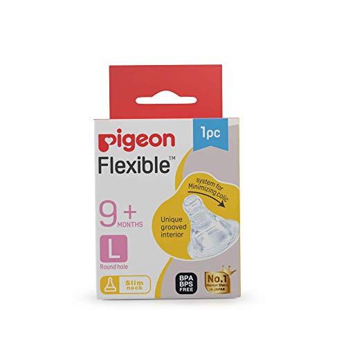 Pigeon-Peristaltic-Nipple-L-1-Pcs-Transparent-one-Size-88121