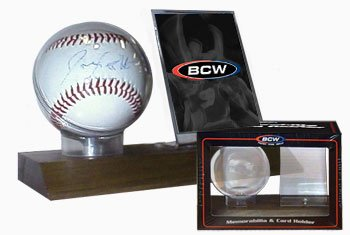 BCW Supplies Woodbase Baseball Holder