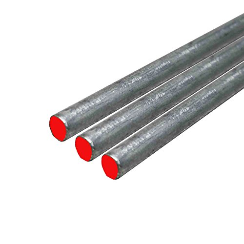 Online Metal Supply 15-5 Stainless Steel Round Rod, Diameter: 0.125 (1/8 inch) (Oversized), Length: 48 inches (3 (Steel Rod Stock)