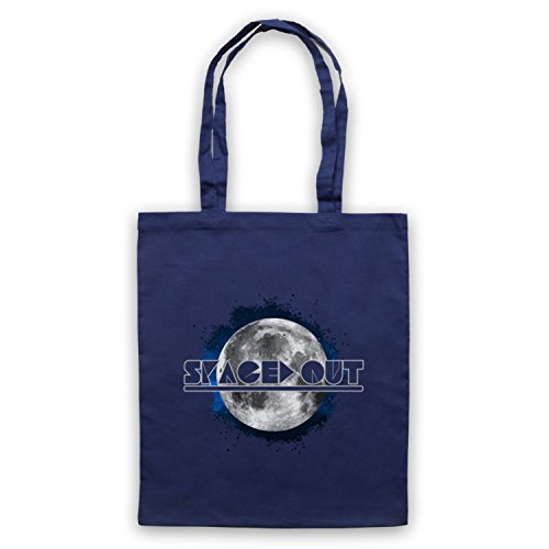 Spaced Out Astronomy Lover Bolso Azur Marino