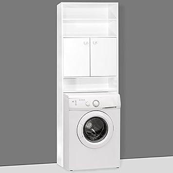 Badezimmerschrank Für Die Waschmaschine Waschmaschinenschrank Badschrank  Badhochschrank | 195 X 63 X 20 Cm | Farbe
