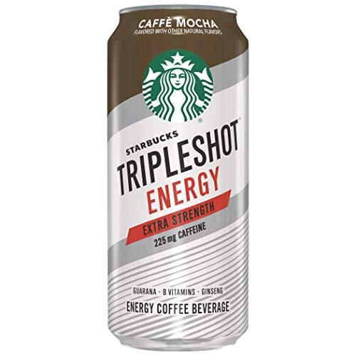 Starbucks Tripleshot, Café Mocha, 15Ounce Cans, 12 Count