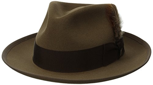 - Stetson Men's Whippet Royal Deluxe Fur Felt Hat, Tawny, 7