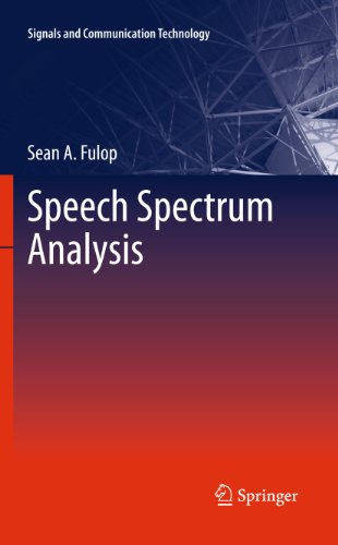 Download Speech Spectrum Analysis (Signals and Communication Technology) Pdf