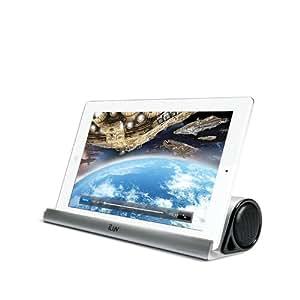 iluv Mo'beats ISP245 - Altavoces portátiles inalámbricos, compatibles con smartphones y tabletas, color plateado