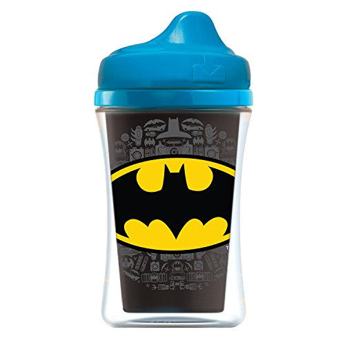 NUK Insulated Sippy Cup, Batman & Justice League, 9oz 2pk -
