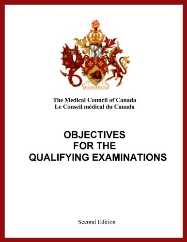 Objectives for the Qualifying Examination by Medical Council of Canada
