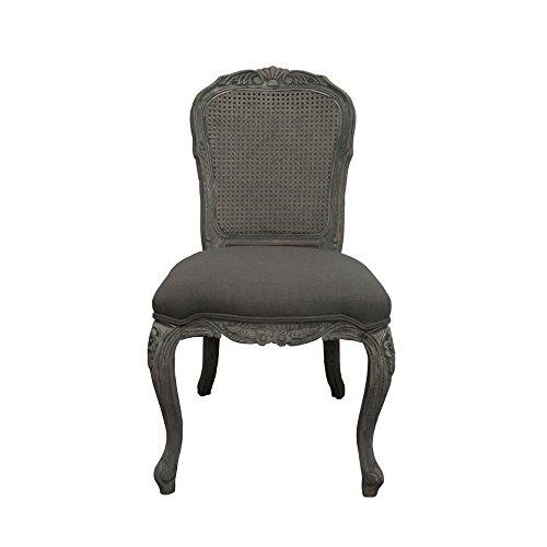 Burnham Home 11713 Noel Dining Chair, Gray Cain (Cain Kitchen Stool)