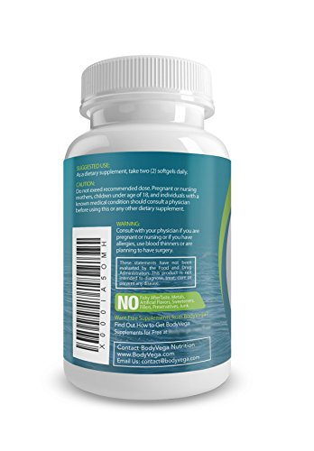 Fish oil omega 3 capsules best triple strength for Nature s bounty fish oil review