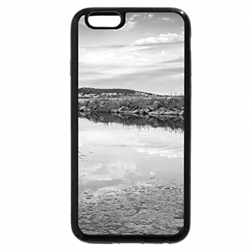iPhone 6S Case, iPhone 6 Case (Black & White) - basin off the bay
