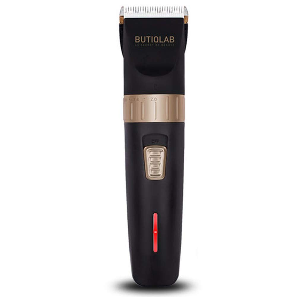 BUTIQLAB BTC-200電動バリカントリマープロフェッショナル理髪コーム充電 BUTIQLAB BTC-200 Electric Hair Clipper Trimmer Professional Barbering Comb Recharging [並行輸入品] B07TB951SQ