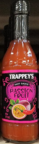 Fruit Hot Sauce (Trappey's Passion Fruit Hot Sauce 6 oz (Pack of 3))